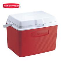 Rubbermaid คูลเลอร์ Victory Cooler (24 ควอร์ต/22.7 ลิตร) - สีแดง