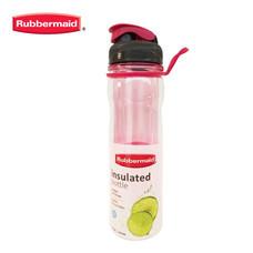 Rubbermaid ขวดน้ำสองชั้น Insulated Bottle Magentar Fire 500 มล. - สีชมพู