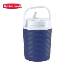 Rubbermaid กระติกน้ำทรงกลม Victory Cooler (1 แกลลอน/3.8 ลิตร) - สีน้ำเงิน