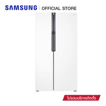Samsung ตู้เย็น Side by Side RS552NRUAWW/ST ระบบ Twin Cooling Plus (584 ลิตร)