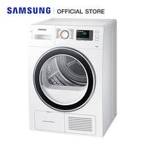 Samsung เครื่องอบผ้า ดีไซน์ Crystal White ขนาด 8 กก. รุ่น DV80H4200CW (พร้อมขาตั้ง)