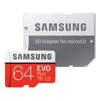 Samsung EVO Plus Micro SD Card 100 MB/s (SD adapter) 64GB