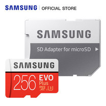 Samsung EVO Plus Micro SD Card 100 MB/s (SD adapter) 256GB