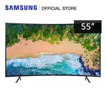 Samsung UHD 4K Curved Smart TV รุ่น UA55NU7300KXXT (2018) ขนาด 55 นิ้ว