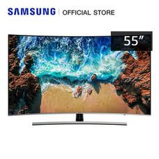 Samsung Premium UHD 4K Curved TV UA55NU8500KXXT (2018) ขนาด 55 นิ้ว