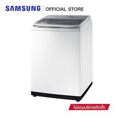 Samsung เครื่องซักผ้าฝาบน Activ dualwash ขนาด 18 กก. รุ่น WA18M8700GW