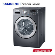 Samsung เครื่องซักผ้าฝาหน้า Combo Eco Bubble ขนาด 14 กก. รุ่น WD14F5K5ASG