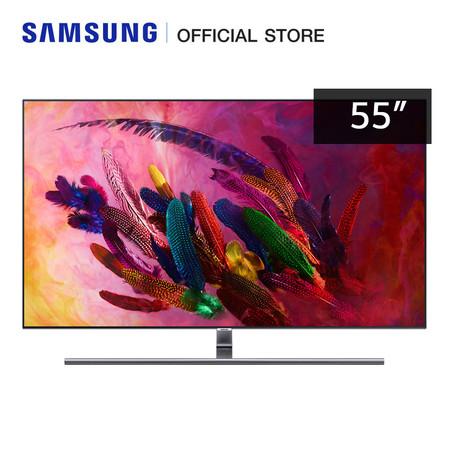 Samsung 4K Smart QLED TV QA55Q7FNAKXXT (2018) ขนาด 55 นิ้ว