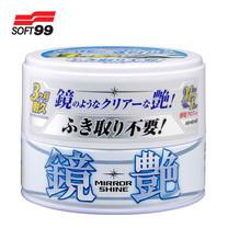SOFT99 แวกซ์เคลือบใยแก้วชนิดเข้มข้น Mirror Shine Wax (สำหรับรถสีอ่อน) 200 g