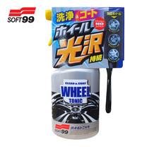 SOFT99 น้ำยาขัดพร้อมเคลือบเงาล้อแม็กซ์ Clean & Coat Wheel Tonic 1000 ml