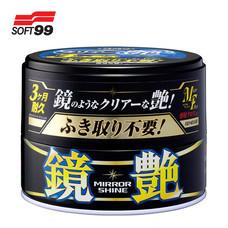 SOFT99 แวกซ์เคลือบใยแก้วชนิดเข้มข้น Mirror Shine Wax (สำหรับรถสีเข้ม) 200 g