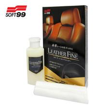 Soft 99 Leather Fine-Cleaner น้ำยาทำความสะอาดพร้อมบำรุงเบาะหนังแท้ # 02069 (LTC)