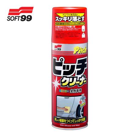 SOFT99 น้ำยาละลายคราบยางมะตอย Pitch Cleaner 220 ml