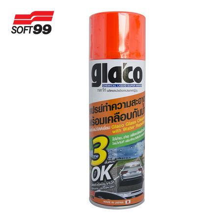 Glaco สเปรย์ทำความสะอาดพร้อมเคลือบกระจก
