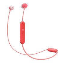 หูฟังไร้สาย Sony WI-C300 Wireless In-Ear Headphones - Red