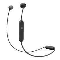 หูฟังไร้สาย Sony WI-C300 Wireless In-Ear Headphones - Black