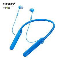 Sony หูฟังไร้สาย Inear with Mic. Wireless รุ่น WI-C400 - Blue