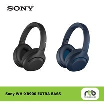 Sony หูฟังบลูทูธ รุ่น WH-XB900N Over-Ear Wireless Noise Canceling Extra Bass Headphones