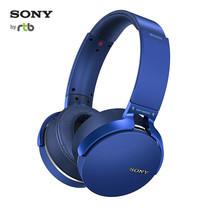Sony หูฟังแบบไร้สาย Extra Bass Wireless Headphones with App Control รุ่น XB950B1 -Blue