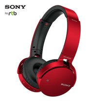 Sony หูฟังบลูทูธ EXTRA BASS Bluetooth Headphone รุ่น MDR-XB650BT - Red