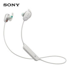 หูฟังไร้สาย Sony WI-SP600N Wireless Sports Headphones with Noise Cancelling and IPX4 Splash Proof- White