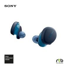 Sony หูฟังบลูทูธ รุ่น WF-XB700 Extra BASS True Wireless Headphones - Blue