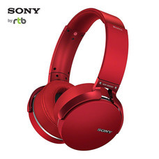 Sony หูฟังแบบไร้สาย Extra Bass Wireless Headphones with App Control รุ่น XB950B1 -Red