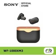 Sony หูฟังไร้สาย รุ่น WF-1000XM3 True Wireless Active Noise Canceling - Black