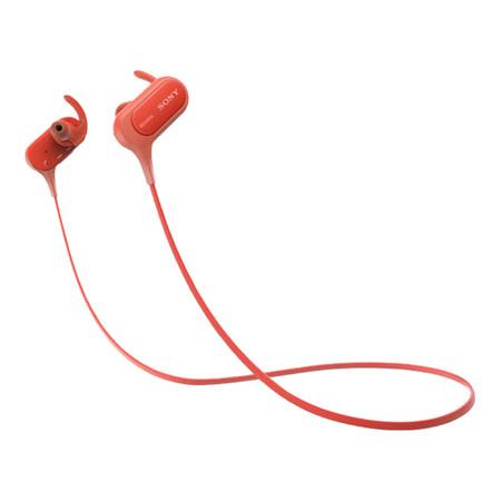 Sony หูฟังบลูทูธ Extra Bass Sports In-ear IPX4 รุ่น MDR-XB50BS - Red