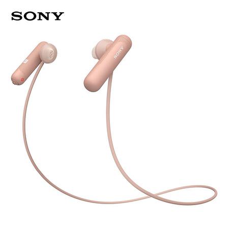 หูฟังไร้สาย Sony WI-SP500 Wireless In-Ear Sports Headphones - Pink