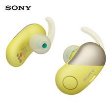 หูฟังบลูทูธ Sony สำหรับออกกำลังกาย Truly Wireless รุ่น WF-SP700N - Yellow