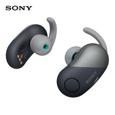 หูฟังบลูทูธ Sony สำหรับออกกำลังกาย Truly Wireless รุ่น WF-SP700N - Black