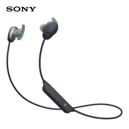 หูฟังบลูทูธ Sony สำหรับออกกำลังกาย In-Ear Wireless รุ่น WI-SP600N - Black