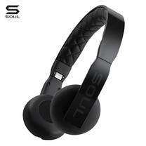 SOUL หูฟัง LOOP Ultra Light Weight On-Ear Headphones : Black