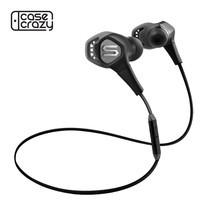 หูฟังออกกำลังกายกันน้ำ SOUL RUN FREE PRO, In-Ear Headphones with Bluetooth - Storm Black