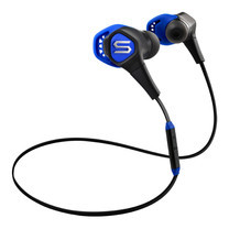 หูฟังออกกำลังกายกันน้ำ SOUL RUN FREE PRO, In-Ear Headphones with Bluetooth - Electric Blue