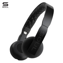 SOUL  หูฟัง LOOP Ultra Light Weight On-Ear Headphones : Black