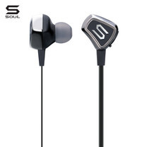 SOUL หูฟังไร้สาย IMPACT WIRELESS, Wireless Active In-Ear Headphones with Bluetooth : Chrome (Black)