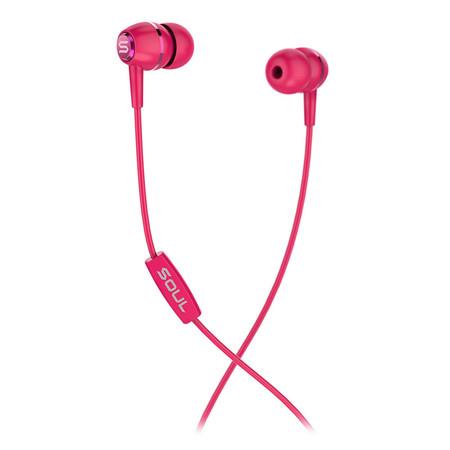 หูฟัง SOUL LIT, High Performance In-Ear Headphones - Red