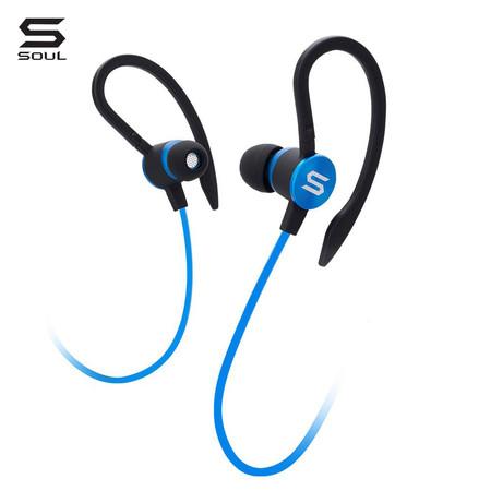SOUL หูฟัง In-Ear Headphones FLEX2, Optimal Acoustic : Electric Blue