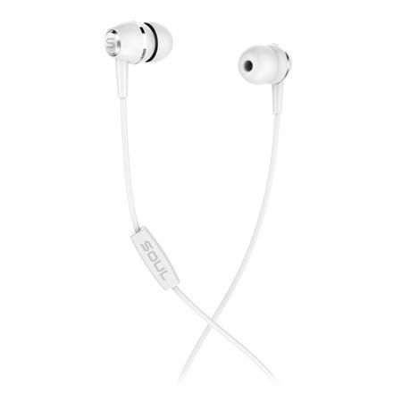 หูฟัง SOUL LIT, High Performance In-Ear Headphones - White