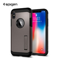 เคส iPhone X SPIGEN Tough Armor - Gunmetal
