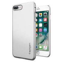 SPIGEN Case Apple iPhone 7 Plus Case Thin Fit - Satin Silver