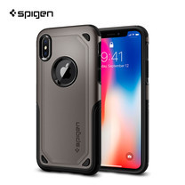 เคส iPhone X SPIGEN Case Hybrid Armor - Gunmetal