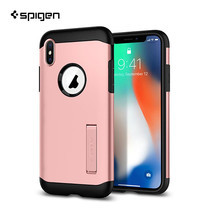 เคส iPhone X SPIGEN Slim Armor - Rose Gold