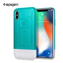 เคส iPhone X SPIGEN Case Limited Edition Classic C1 - Bondi Blue (Mint)
