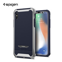 เคส iPhone X SPIGEN Case Reventon - Platinum Silver