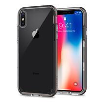 เคส iPhone X SPIGEN Case Neo Hybrid Crystal - Gunmetal