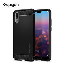 เคส Huawei P20 SPIGEN Case Rugged Armor - Black