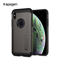 เคส Apple iPhone XS SPIGEN Case Slim Armor : Gunmetal